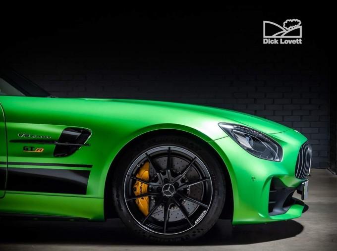 2018 Mercedes-Benz V8 BiTurbo R (Premium) SpdS DCT 2-door (Green) - Image: 13