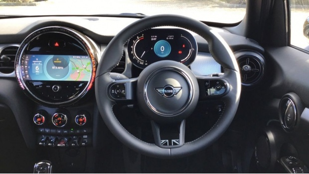 2021 MINI 5-door Cooper Exclusive (Grey) - Image: 5