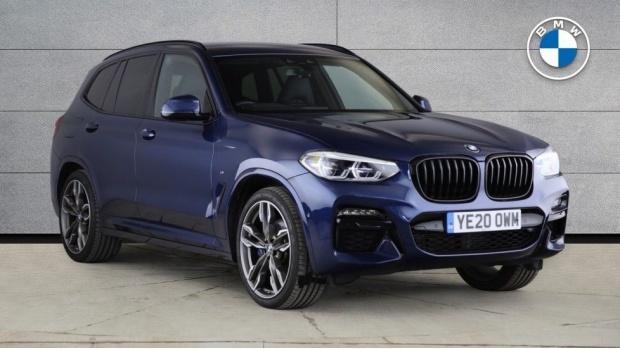 2020 BMW M40d (Blue) - Image: 1