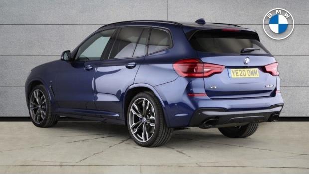 2020 BMW M40d (Blue) - Image: 2
