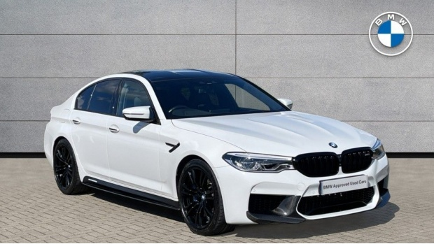 2018 BMW Saloon (White) - Image: 1