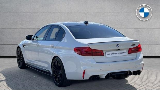 2018 BMW Saloon (White) - Image: 2