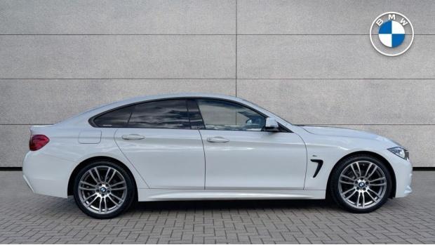 2017 BMW 420i M Sport Gran Coupe (White) - Image: 3