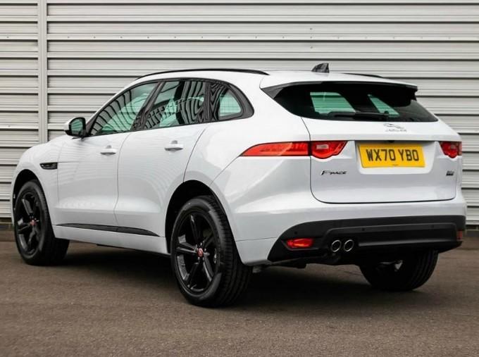 2020 Jaguar Chequered Flag Auto 5-door (White) - Image: 2