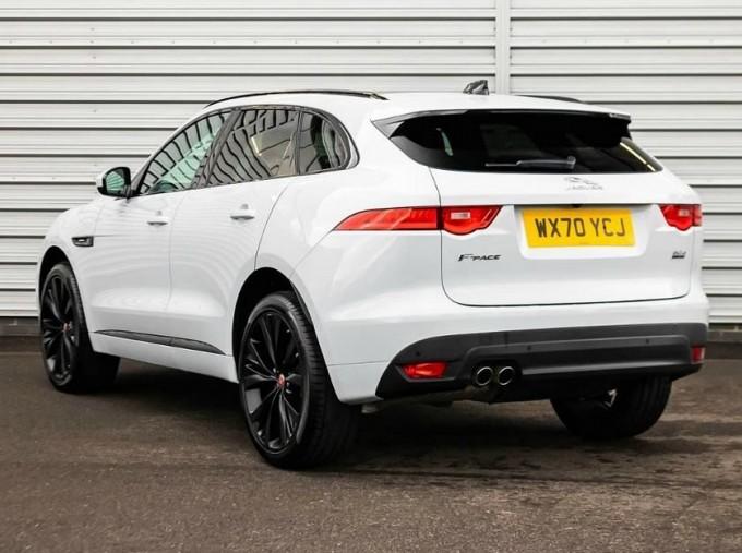 2020 Jaguar R-Sport Auto 5-door (White) - Image: 2