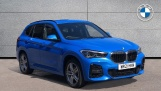 2021 BMW XDrive18d M Sport (Blue) - Image: 1