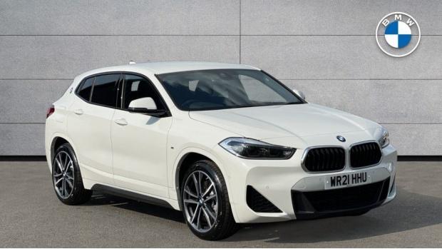 2021 BMW XDrive25e M Sport (White) - Image: 1