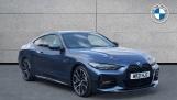 2021 BMW 430i M Sport Coupe (Blue) - Image: 1