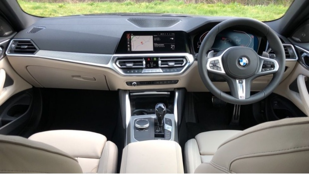 2021 BMW 430i M Sport Coupe (Blue) - Image: 4