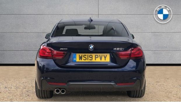 2019 BMW 420i xDrive M Sport Coupe Auto (Blue) - Image: 15