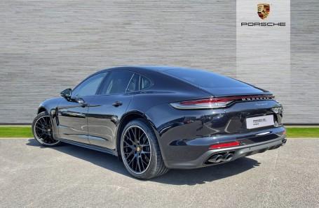 2021 Porsche V6 4 PDK 4WD 4-door (Black) - Image: 2