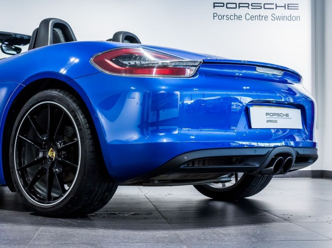 2016 Porsche 981 PDK 2-door (Blue) - Image: 14