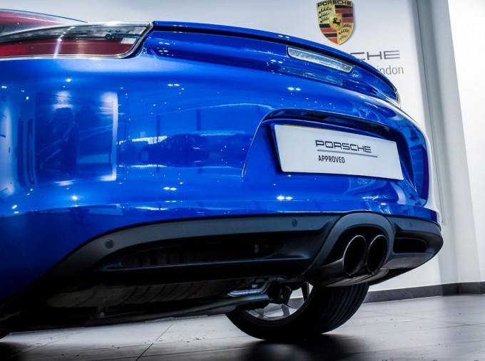 2016 Porsche 981 PDK 2-door (Blue) - Image: 15