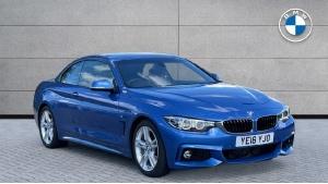 2018 BMW 4 Series 420d M Sport Convertible 2-door