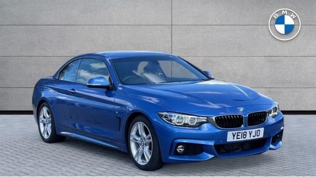2018 BMW 420d M Sport Convertible (Blue) - Image: 1
