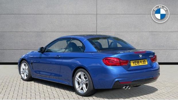 2018 BMW 420d M Sport Convertible (Blue) - Image: 2