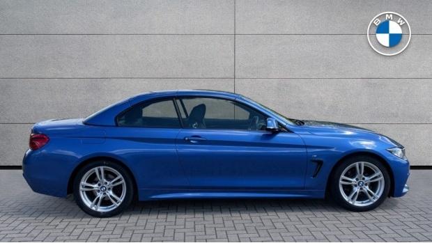 2018 BMW 420d M Sport Convertible (Blue) - Image: 3