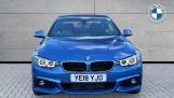 2018 BMW 420d M Sport Convertible (Blue) - Image: 16