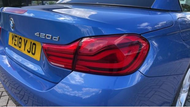 2018 BMW 420d M Sport Convertible (Blue) - Image: 22