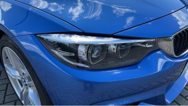 2018 BMW 420d M Sport Convertible (Blue) - Image: 23
