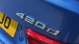 2018 BMW 420d M Sport Convertible (Blue) - Image: 40