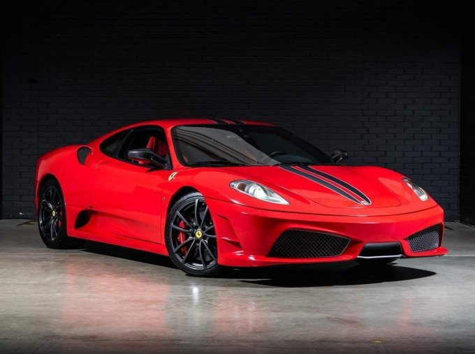 2008 Ferrari Scuderia 2-door (Red) - Image: 1