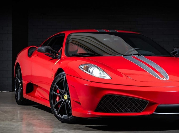 2008 Ferrari Scuderia 2-door (Red) - Image: 9