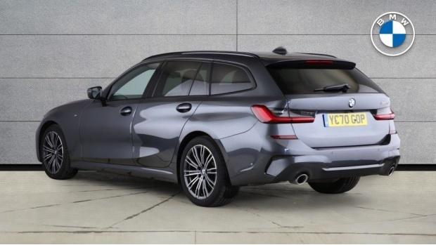 2020 BMW 320d M Sport Touring (Grey) - Image: 2