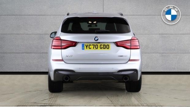 2020 BMW XDrive20i M Sport (Silver) - Image: 15