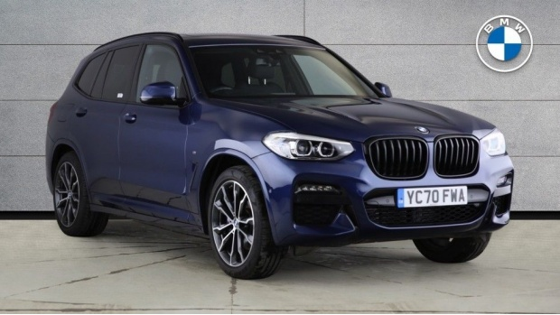 2020 BMW XDrive20i M Sport (Blue) - Image: 1