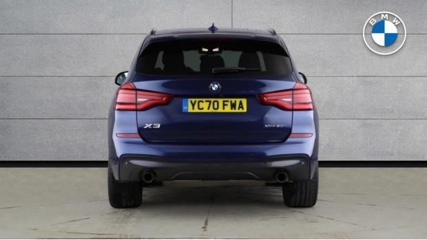 2020 BMW XDrive20i M Sport (Blue) - Image: 15