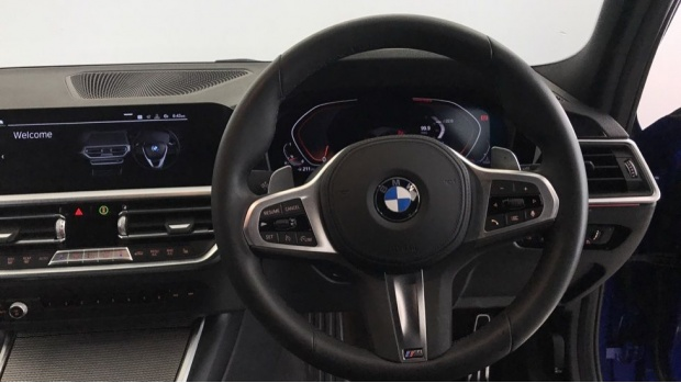 2020 BMW 320i M Sport Touring (Blue) - Image: 5