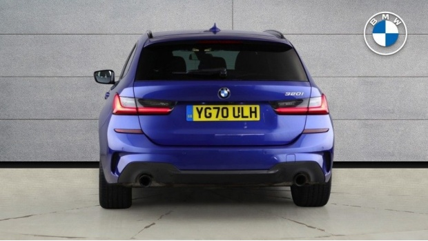 2020 BMW 320i M Sport Touring (Blue) - Image: 15