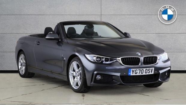 2020 BMW 420i M Sport Convertible Auto (Grey) - Image: 1