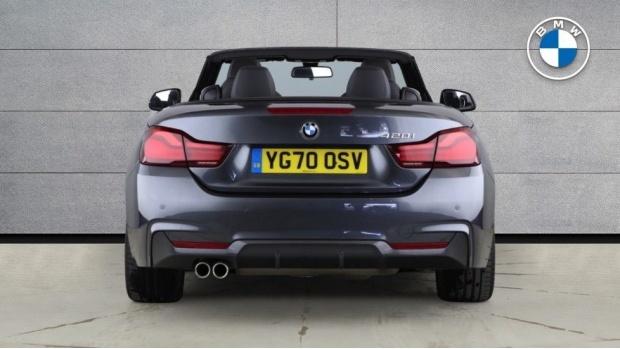 2020 BMW 420i M Sport Convertible Auto (Grey) - Image: 15