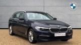 2018 BMW 520d SE Touring (Blue) - Image: 1