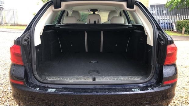 2018 BMW 520d SE Touring (Blue) - Image: 13