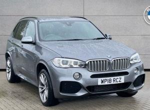 Brand new 2018 BMW X5 xDrive40d M Sport 5-door finance deals