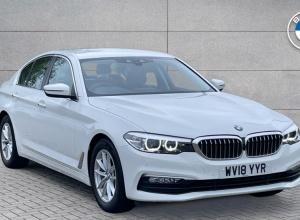 Brand new 2018 BMW 5 Series 520d xDrive SE Saloon 4-door finance deals