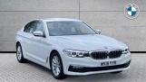 2018 BMW 520d xDrive SE Saloon (White) - Image: 1