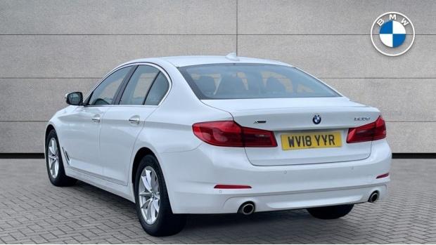 2018 BMW 520d xDrive SE Saloon (White) - Image: 2