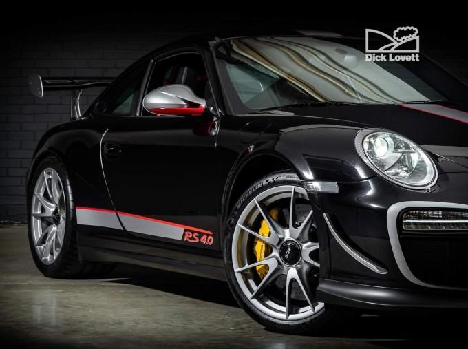 2012 Porsche 997 GT3 RS 2-door (Black) - Image: 9