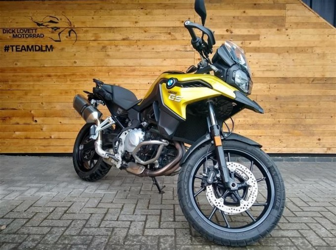 2018 BMW F750GS Unlisted Unknown (Yellow) - Image: 2