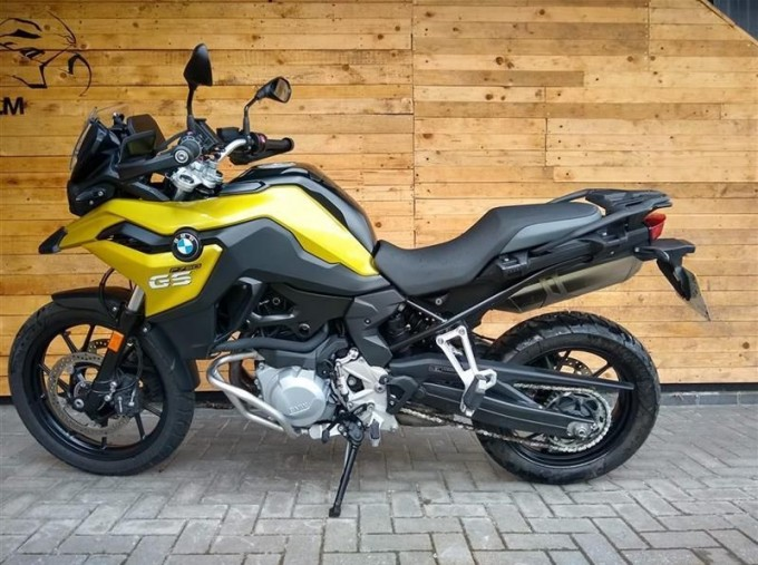 2018 BMW F750GS Unlisted Unknown (Yellow) - Image: 4