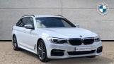2019 BMW 520d M Sport Touring (White) - Image: 1