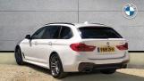 2019 BMW 520d M Sport Touring (White) - Image: 2