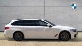 2019 BMW 520d M Sport Touring (White) - Image: 3