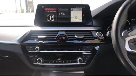 2019 BMW 520d M Sport Touring (White) - Image: 8