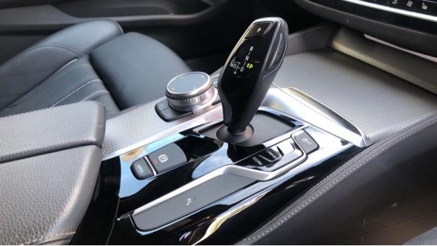 2019 BMW 520d M Sport Touring (White) - Image: 10