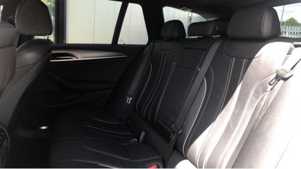 2019 BMW 520d M Sport Touring (White) - Image: 12